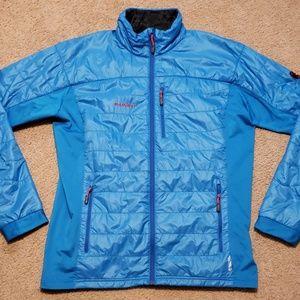 Mammut Guye Alpha Blue Lightweight Coat Jacket 2XL